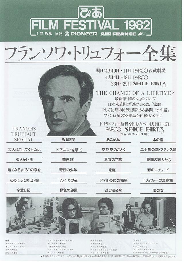 1982年:第5回PFF