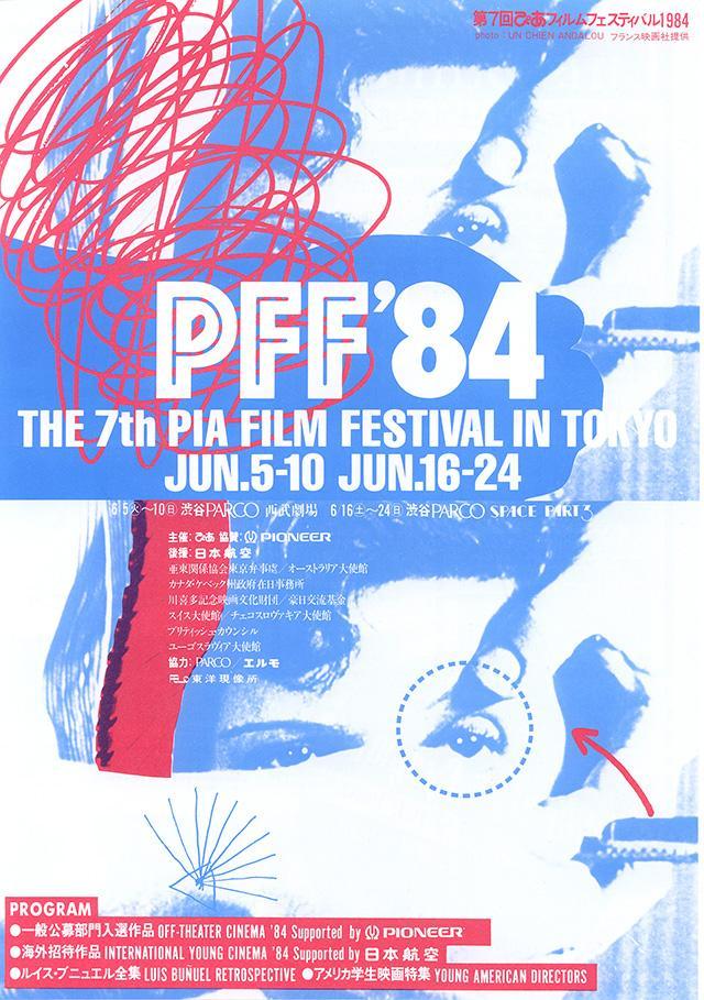 1984年:第7回PFF